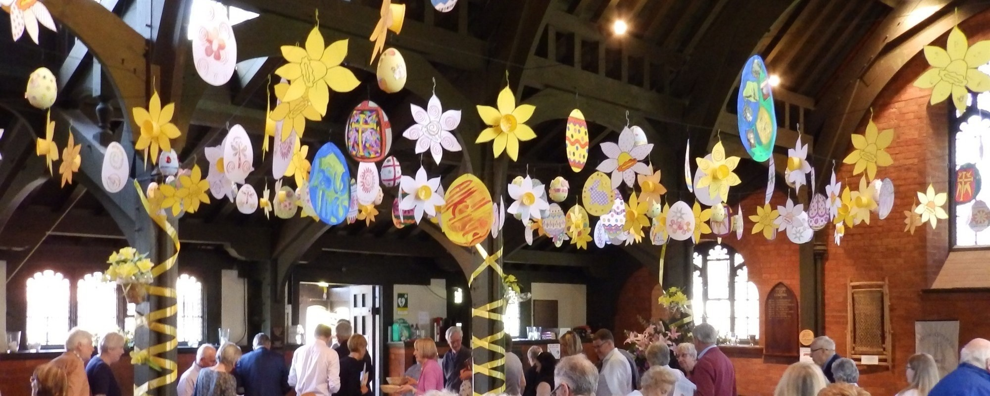 Celebrating Easter* *Find out more about our Easter Services