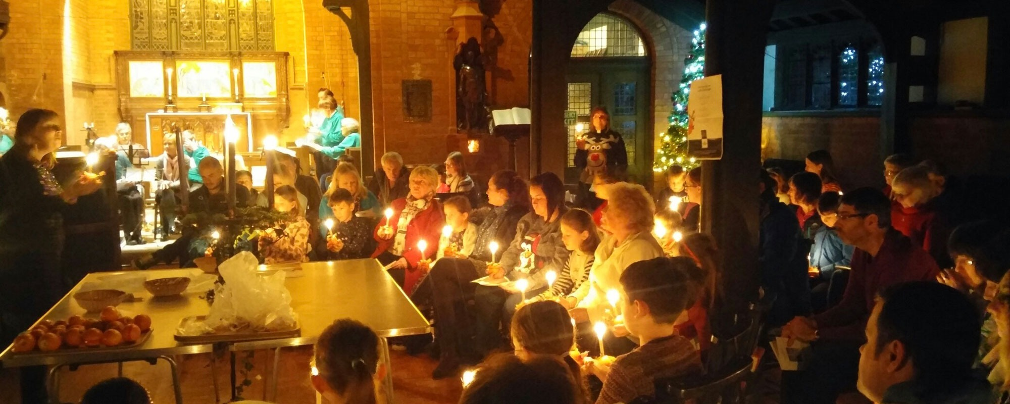 Christingle Service*Supporting the work of The Children's Society*Find out more about our Christingle and Crib Service This Christmas